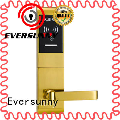 Eversunny Electronic card access door lock stainless steel for apartment