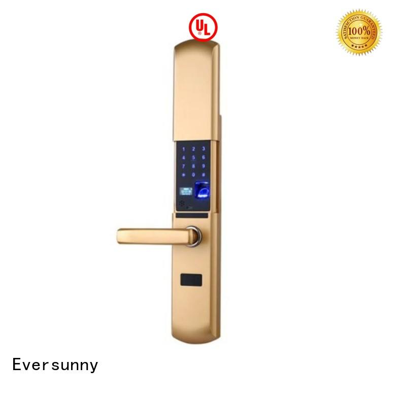 Eversunny keyless keyless entry door lock touch screen for residence