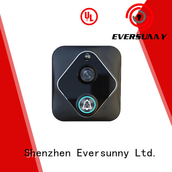 Eversunny smart wifi video doorbell with central management control system for apartment