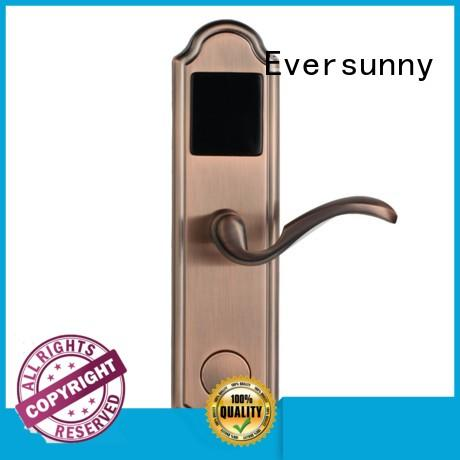 Eversunny safe key card door lock system key for hotel