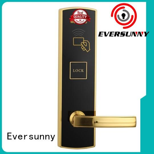 Eversunny convenient card entry door locks with central management control system for hotel