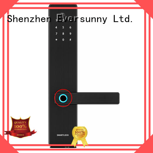 Eversunny fingerprint door lock uk front door for residence