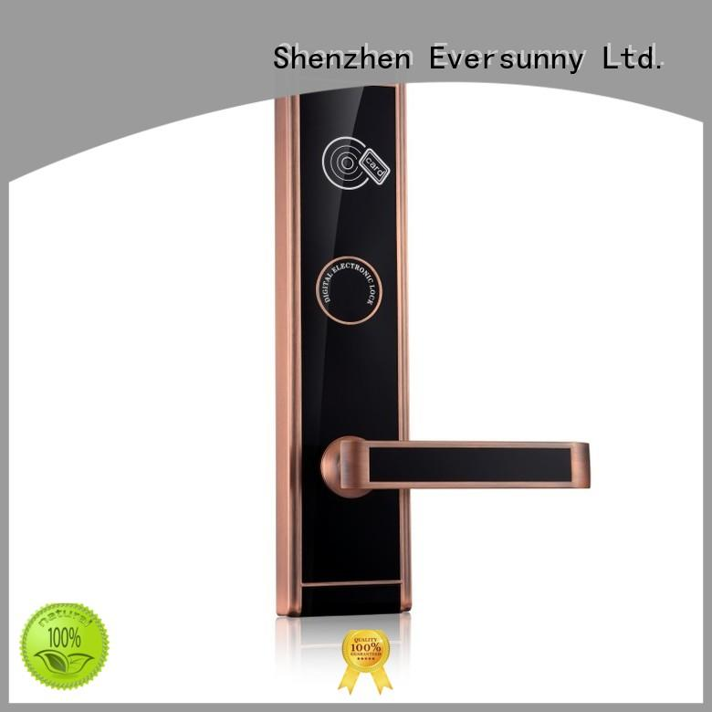 Eversunny entry hotel card key system suppliers with central management control system for door