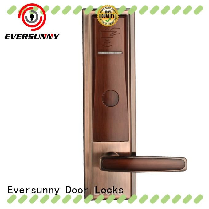 Eversunny Electronic key card entry system stainless steel for hotel