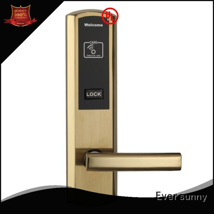 Eversunny reliable card entry door locks with central management control system for door