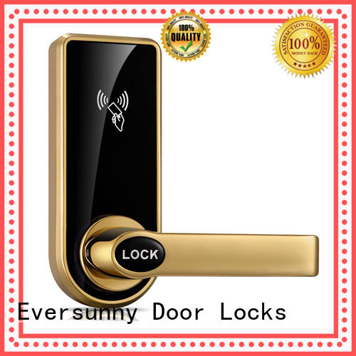 Eversunny hotel card access door lock system international standard for hotel