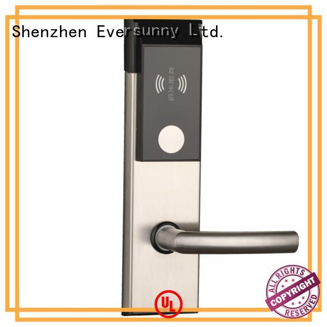 safe swipe card door lock stainless with central management control system for apartment