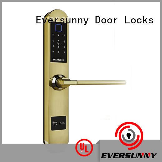 Eversunny control fingerprint door lock uk good quality for apartment