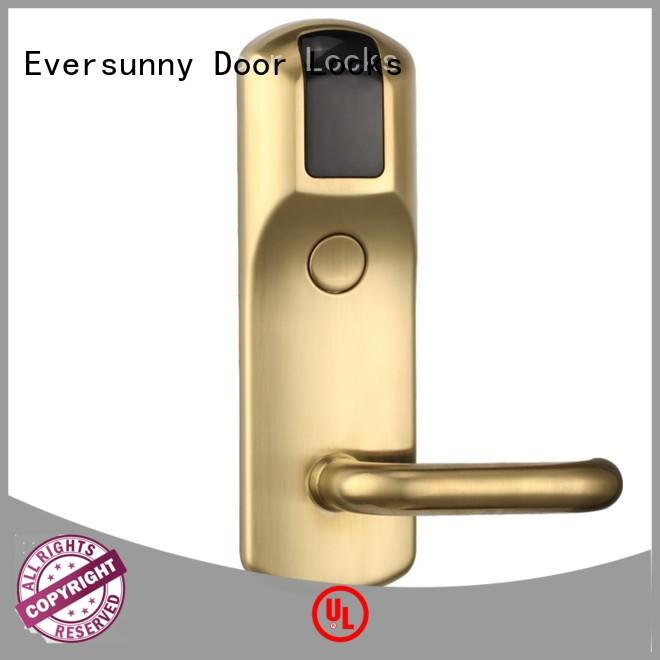 Eversunny fast hotel card key system suppliers international standard for home