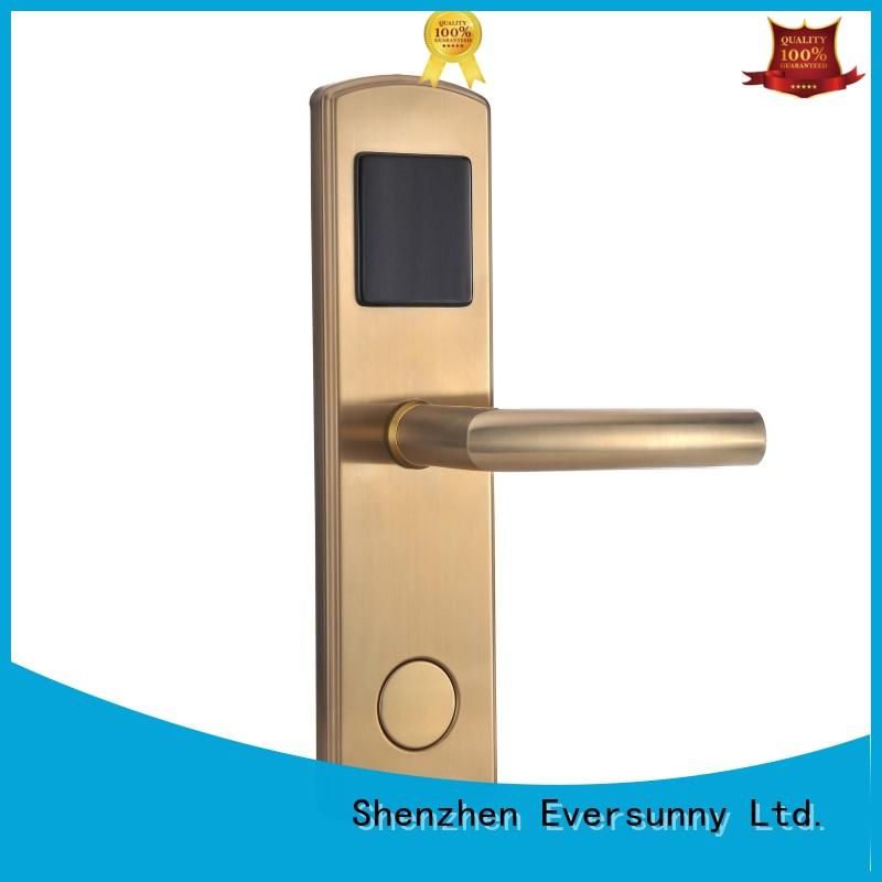 reliable door key card system energy-saving for apartment