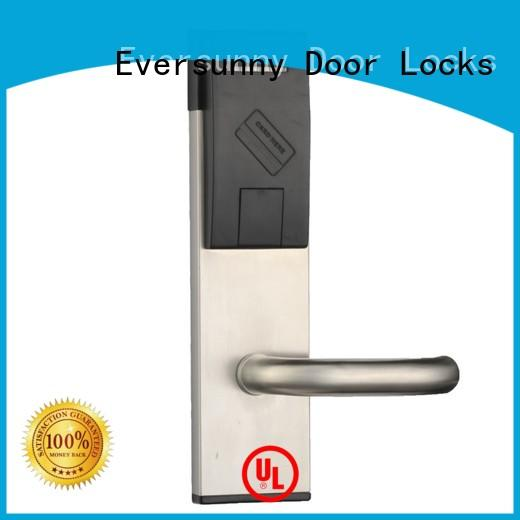 Eversunny card lock system with central management control system for door