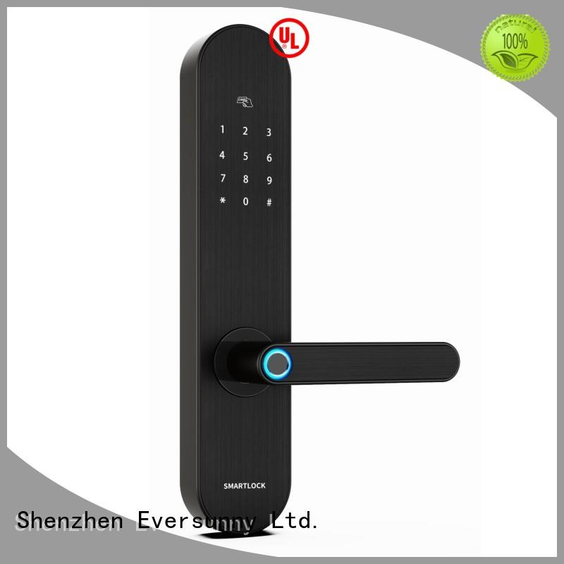 Eversunny reliable best keyless door locks touch screen for apartment