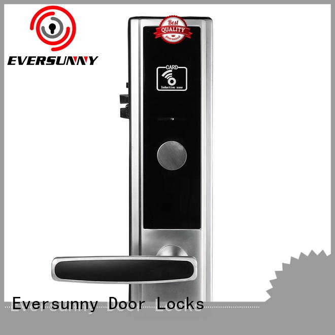 Eversunny practical card access door lock system hotel smart locks for home