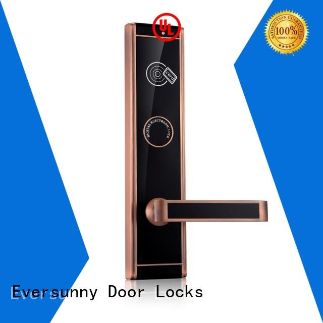 Eversunny reliable key card lock system with central management control system for door