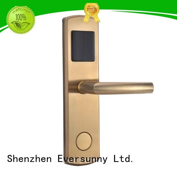 Eversunny safe card entry door locks with central management control system for home