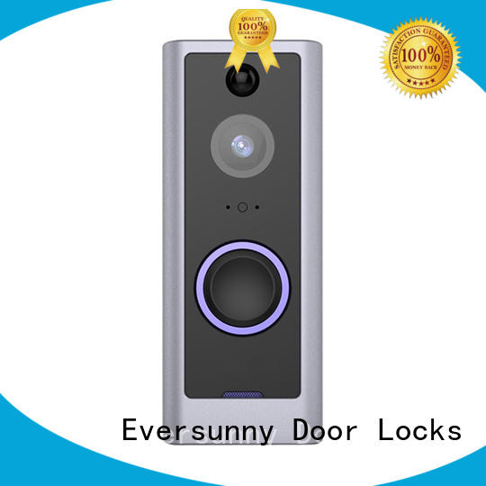 Eversunny bell ring wifi smart video doorbell stainless steel for home