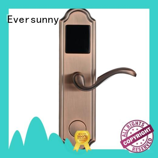Eversunny Electronic card door lock stainless steel for apartment