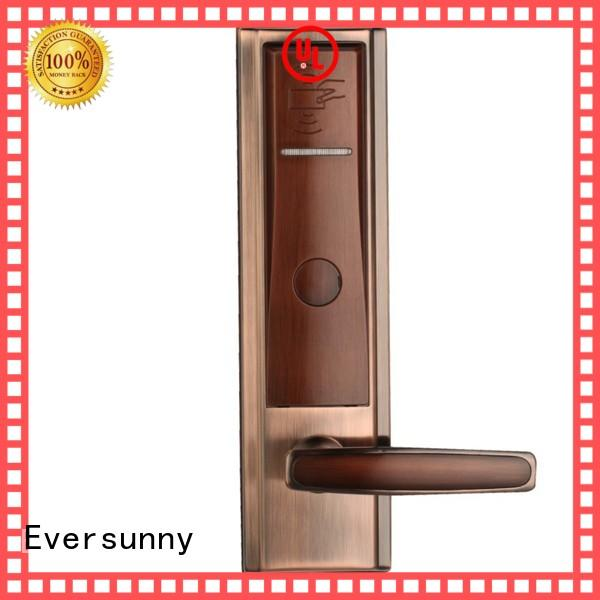Eversunny card access door lock system stainless steel for hotel