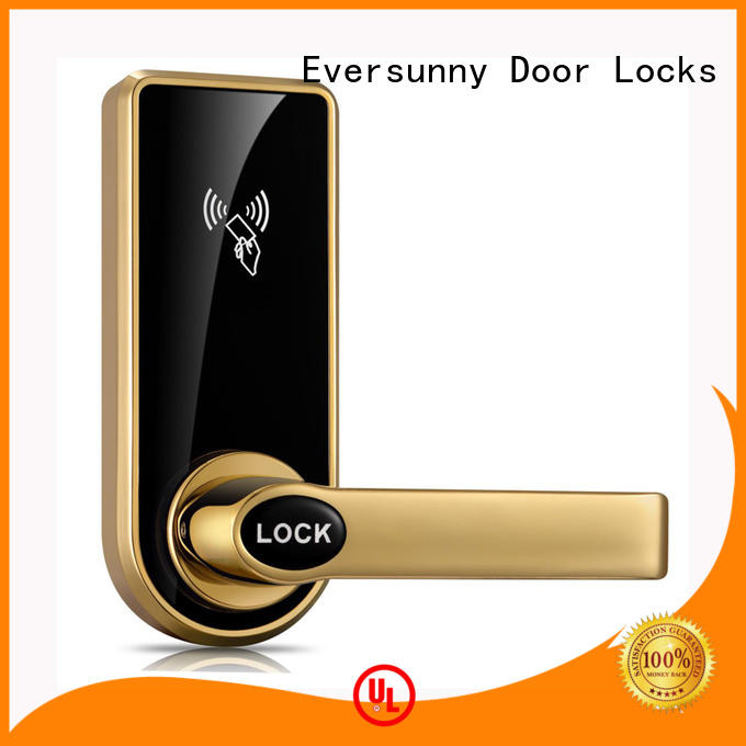 Eversunny practical key card door lock for hotels access for apartment