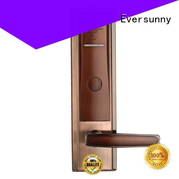 Eversunny swipe card door lock hotel smart locks for home