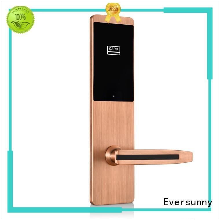 smart card door lock system energy-saving for door