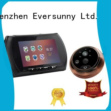 security door viewer with motion sensor Large angle for front door