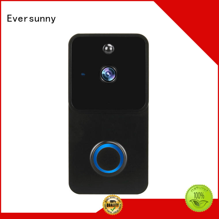 Eversunny safe wireless wifi video doorbell energy-saving for home