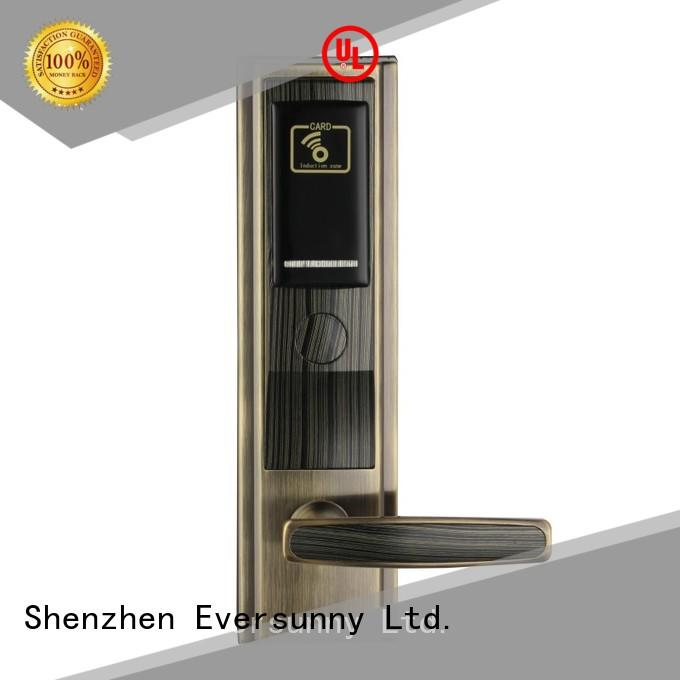 fast key card door lock price stainless international standard for home