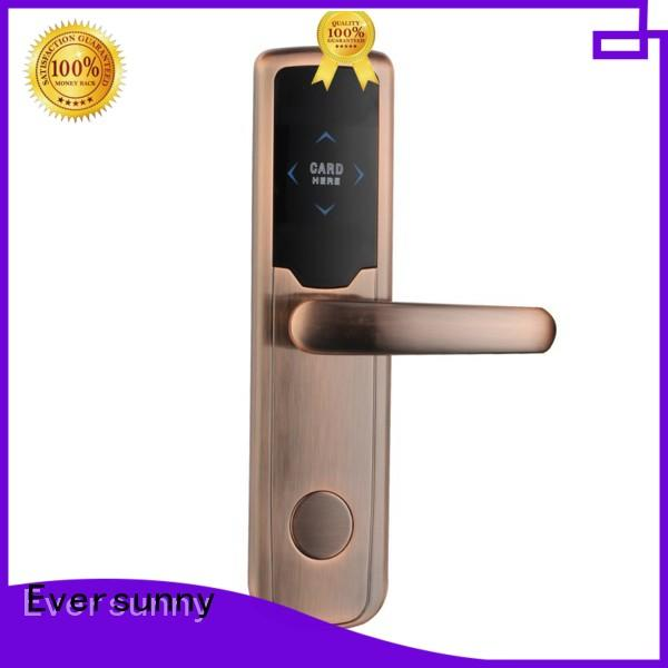 Eversunny reliable key card entry system hotel smart locks for home