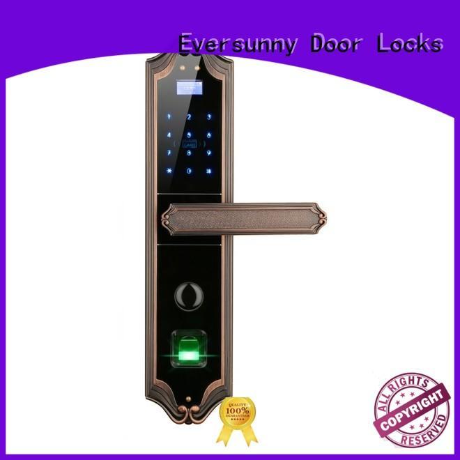 Eversunny best keyless door locks factory price for villa