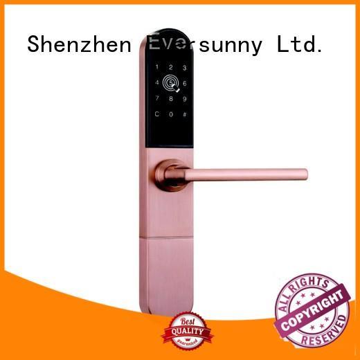 Swipe Key Card and Key Code Door Lock For Broken Bridge Aluminum Door