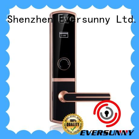 safe hotel key card lock with central management control system for home