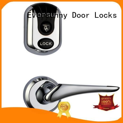 Eversunny entry card reader door lock system hotel smart locks for door