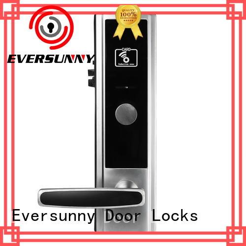 Eversunny electromagnetic hotel card lock system international standard for door