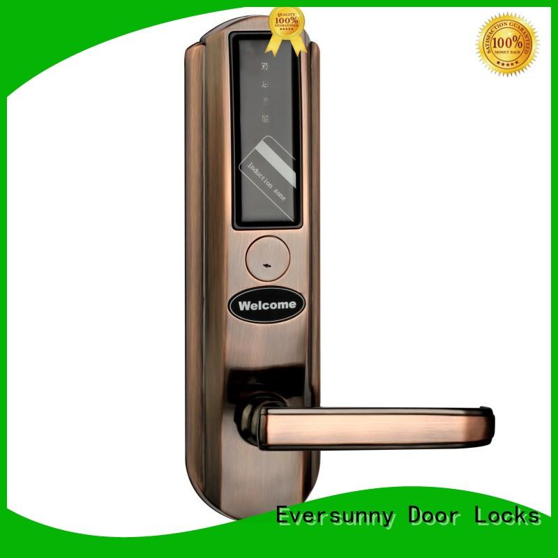 Eversunny card entry door locks hotel smart locks for home