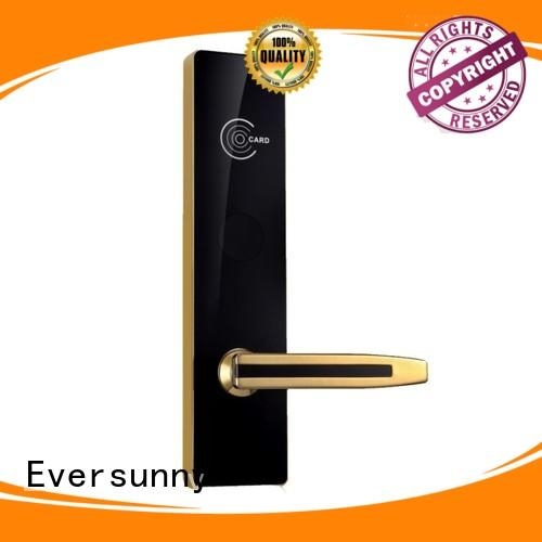 Electronic door access card system stainless steel for hotel