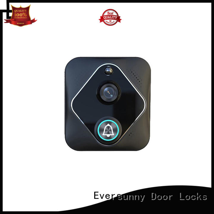 Eversunny smart wifi doorbell stainless steel for hotel
