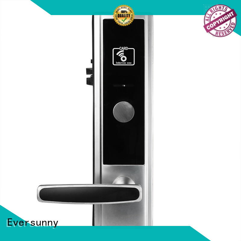 reliable card lock stainless steel for hotel