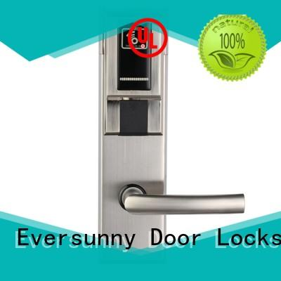 smart key card door lock system international standard for home