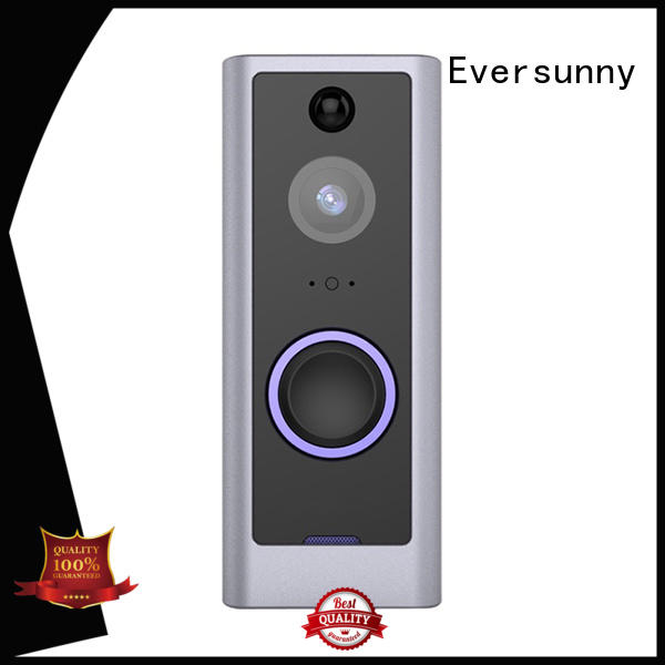 doorbell wireless doorbell camera with central management control system for home Eversunny