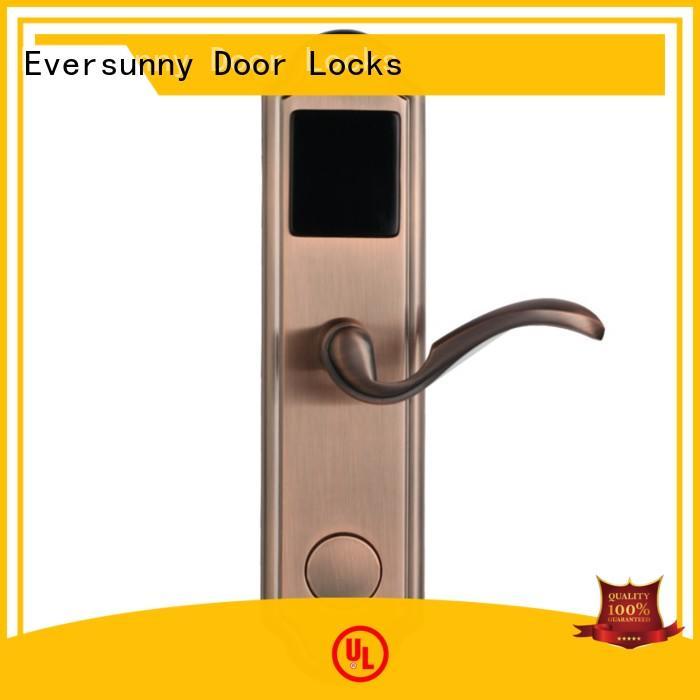 Eversunny electronic door locks with card reader hotel smart locks for door