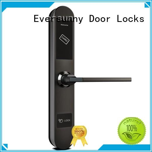 Eversunny electromagnetic key card lock system with central management control system for door