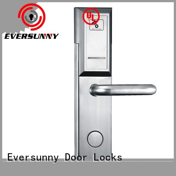 Eversunny safe card reader lock door for apartment