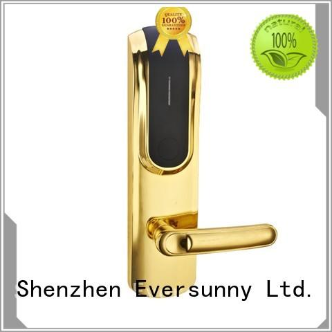 Eversunny reliable card access door lock system energy-saving for home