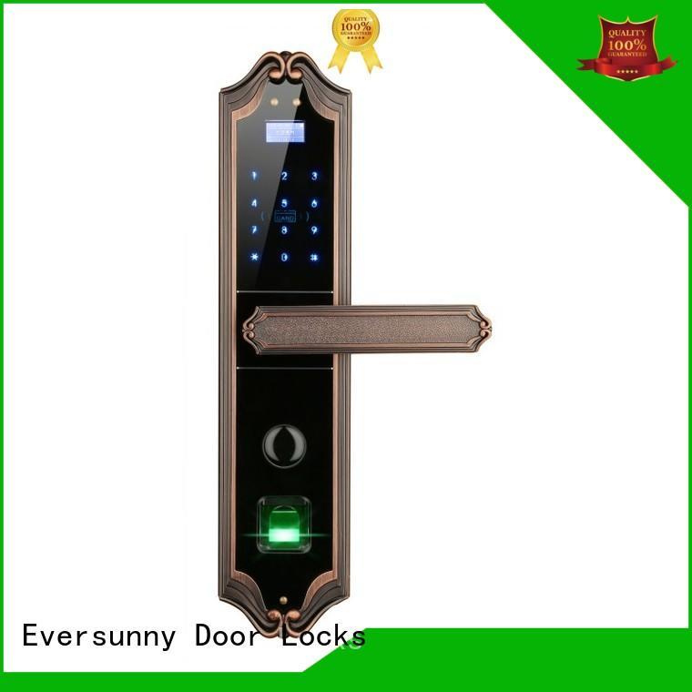Eversunny front door keyless entry supplier for villa