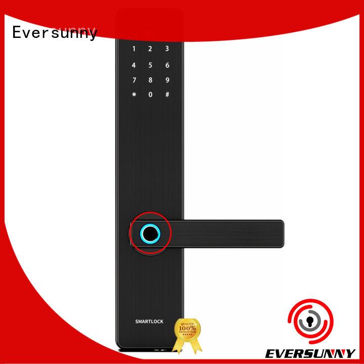 Eversunny smart fingerprint locker lock handle