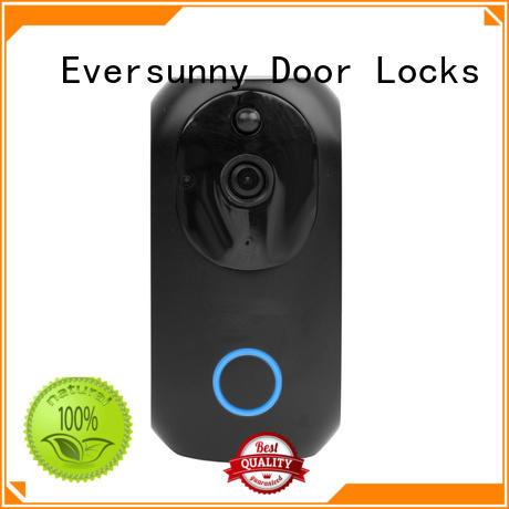 wifi wireless smart doorbell stainless steel for hotel Eversunny