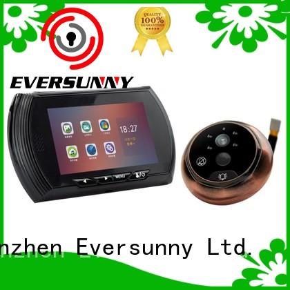 Eversunny professional motion activated digital peephole manufacturer for front door