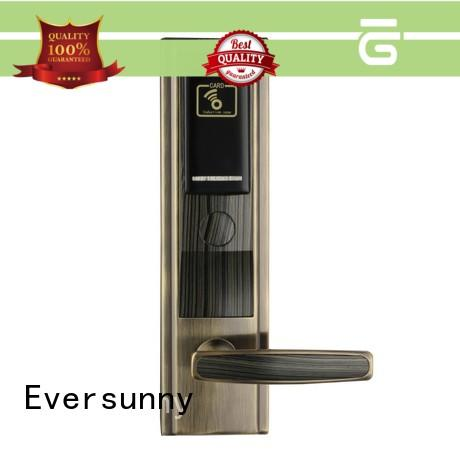 fast rfid card lock stainless steel for apartment