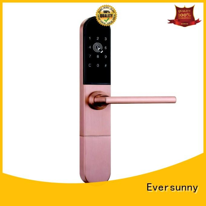 front gate lock with code smart for hotel